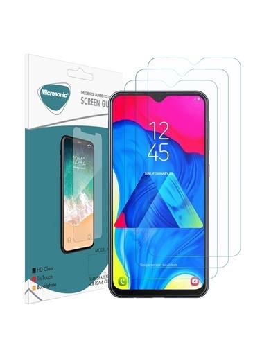 Microsonic Samsung Galaxy M10 Ekran Koruyucu Nano Cam (3'lü Paket) Renksiz